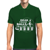 Grab Your Balls We're Going Bowling Mens Polo