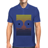 Gradient Homer by Hugo Coria Mens Polo