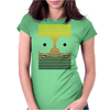 Gradient Homer by Hugo Coria Womens Fitted T-Shirt