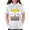 Gradient Homer by Hugo Coria Womens Polo