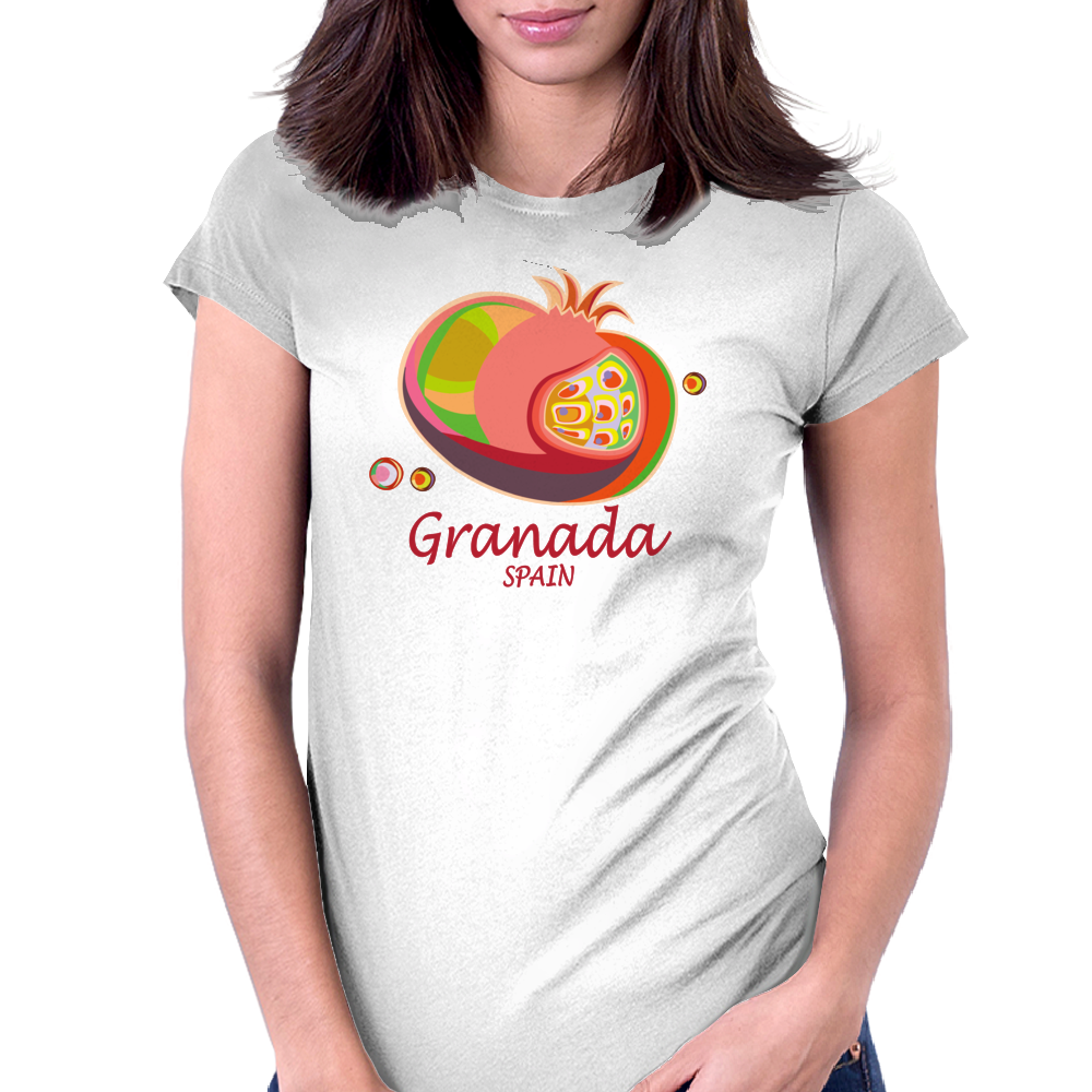 GRANADA Womens Fitted T-Shirt