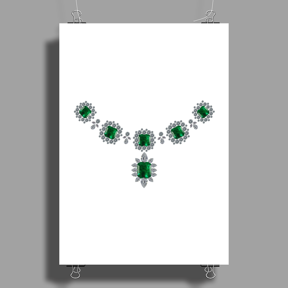 Grand Duchess Vladimar Necklace Poster Print (Portrait)