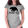 Grandpa Bear Womens Fitted T-Shirt