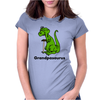 Grandpasaurus Dinosaur Womens Fitted T-Shirt