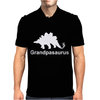 Grandpasaurus Mens Polo