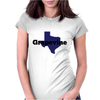 Grapevine Texas Womens Fitted T-Shirt