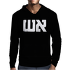 Graphic Tee Fire in Hebrow Mens Hoodie