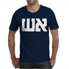 Graphic Tee Fire in Hebrow Mens T-Shirt