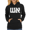 Graphic Tee Fire in Hebrow Womens Hoodie