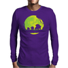 Grass Moonwalk Mens Long Sleeve T-Shirt