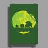 Grass Moonwalk Poster Print (Portrait)