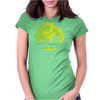 Grass Moonwalk Womens Fitted T-Shirt