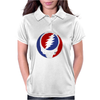 Grateful Dead 70s Rock Music Group Womens Polo