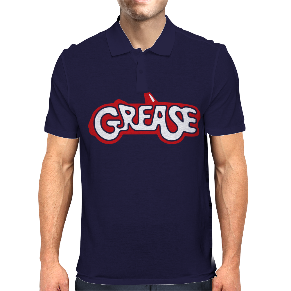 Grease Lightning Movie Mens Polo