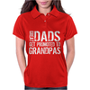 Great Dads Get Promoted To Grandpas Womens Polo