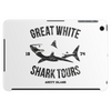 Great White Shark Tours (worn look) Tablet (horizontal)