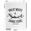 Great White Shark Tours (worn look) Tablet (vertical)