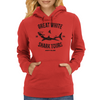 Great White Shark Tours (worn look) Womens Hoodie