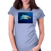 Great White Shark Womens Fitted T-Shirt