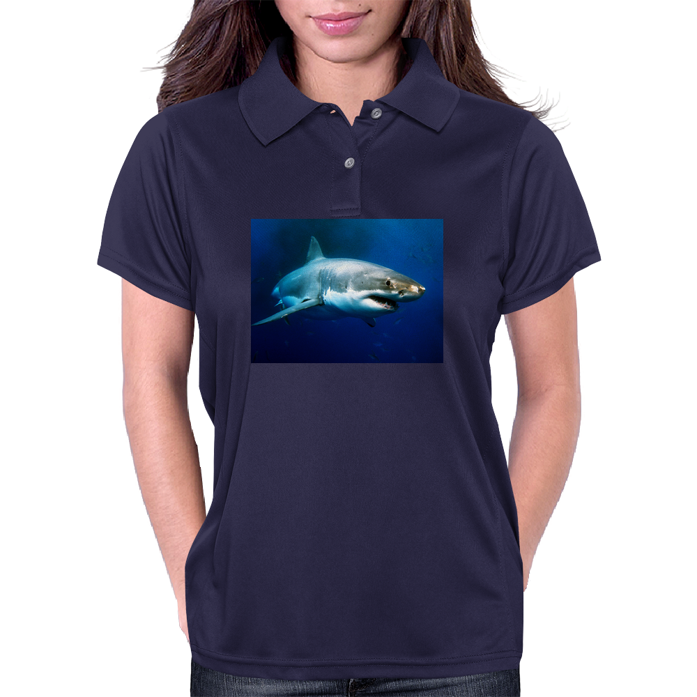 Great White Shark Womens Polo