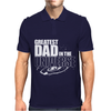 Greatest Dad In The Universe Mens Polo