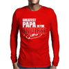 Greatest Papa In The Universe Mens Long Sleeve T-Shirt