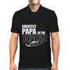 Greatest Papa In The Universe Mens Polo