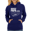 Greatest Papa In The Universe Womens Hoodie