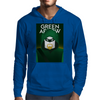 Green Arrow Mens Hoodie