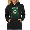 Green Arrow Womens Hoodie