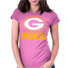 Green Bay Packers Womens Fitted T-Shirt