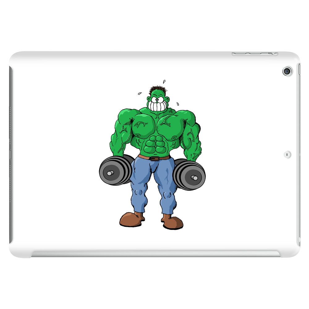 Green Bodybuilder 2 Tablet (horizontal)
