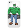 Green Bodybuilder Phone Case