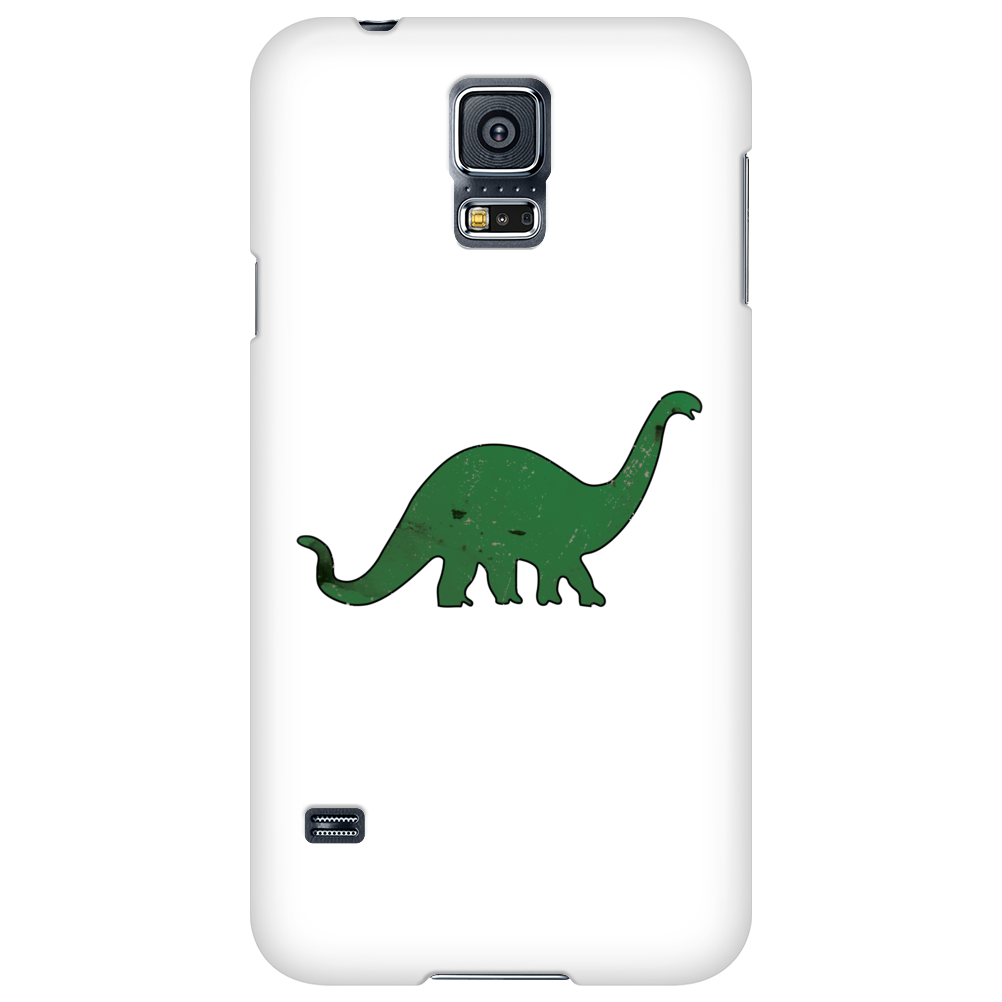 Green dino distressed version Phone Case