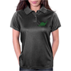 Green dino distressed version Womens Polo