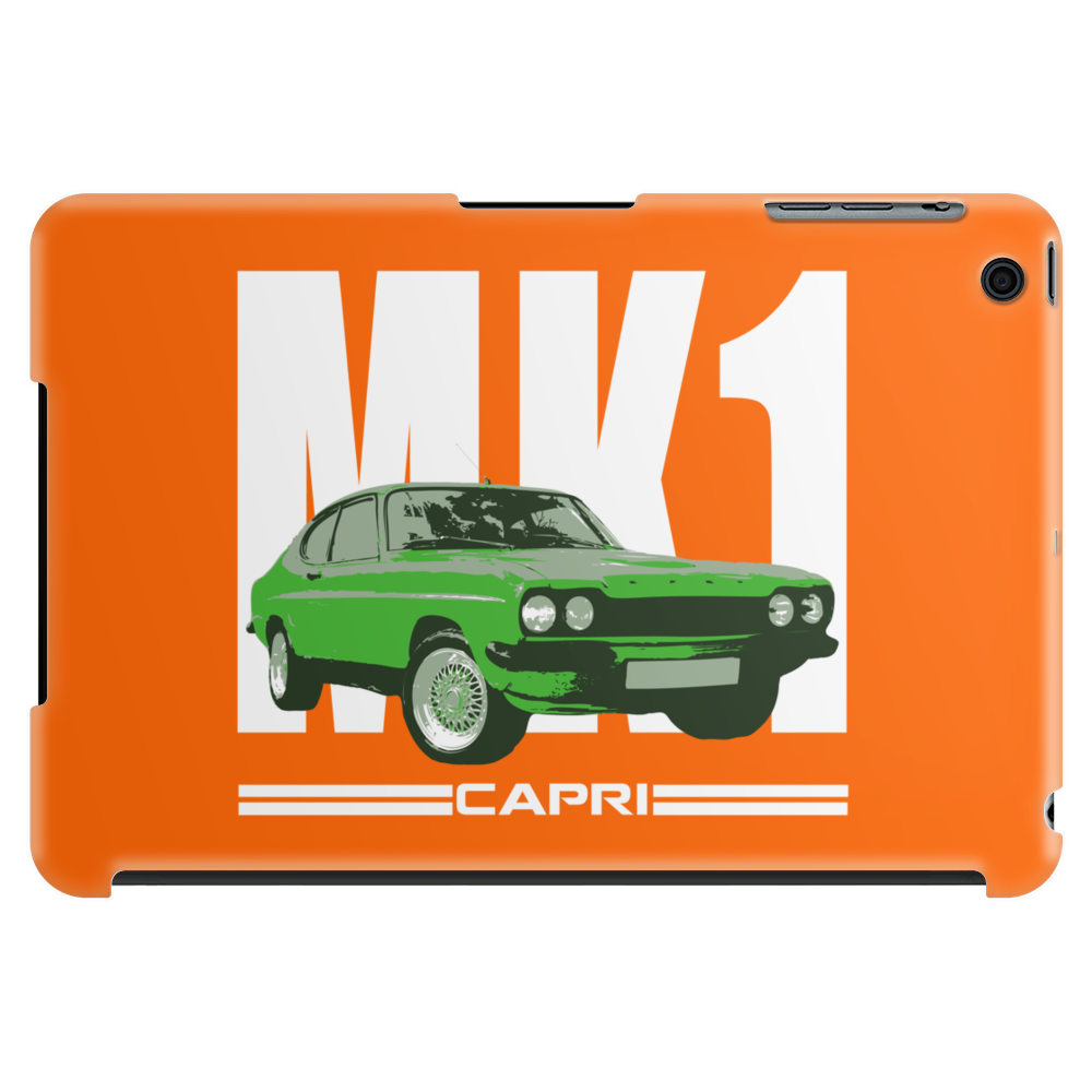 Green Ford Capri MK1 Classic Car Tablet