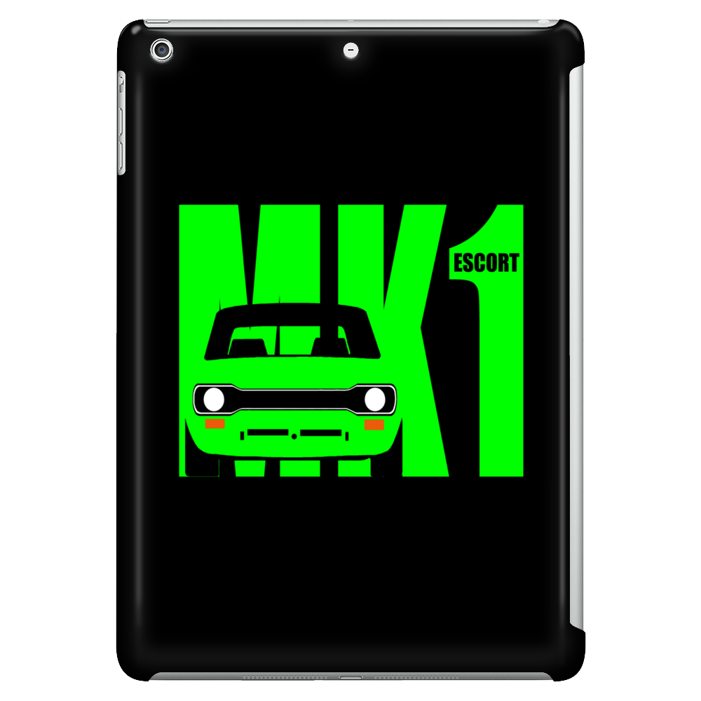 Green Ford Escort MK1 Classic Car Tablet