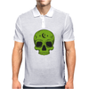 Green Hellion Skull Mens Polo
