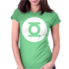 Green Lantern Blue Lantern Flash Symbol Womens Fitted T-Shirt