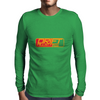 Green Mens Long Sleeve T-Shirt