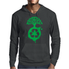 Green Recycle Mens Hoodie