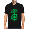 Green Recycle Mens Polo