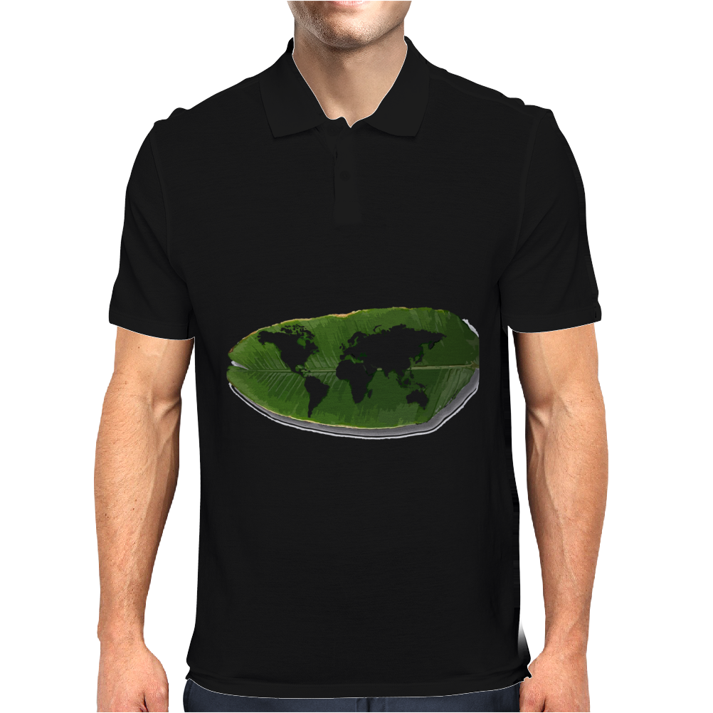 green world Mens Polo