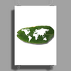 green world Poster Print (Portrait)