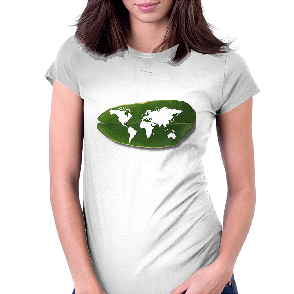 green world Womens Fitted T-Shirt