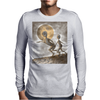 Grey Alien Mens Long Sleeve T-Shirt