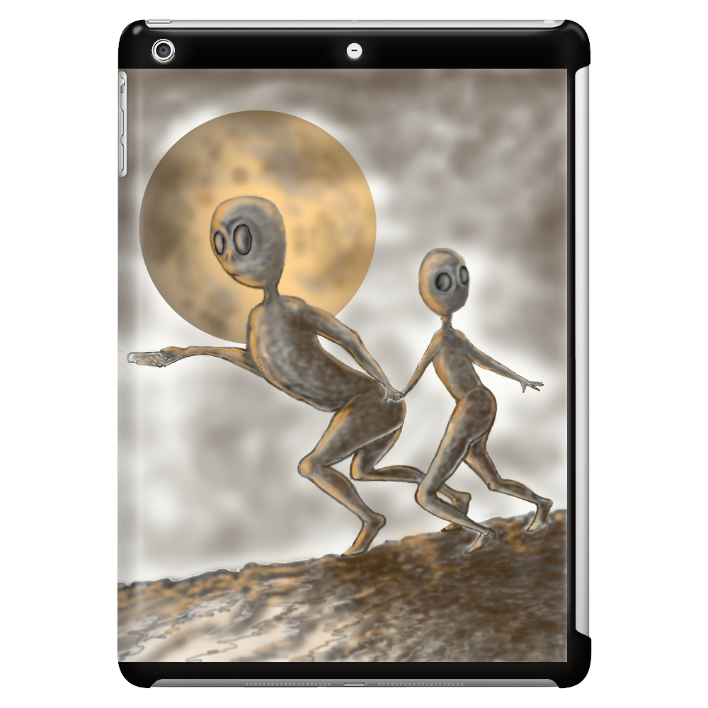 Grey Alien Tablet