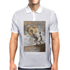 Grey Aliens Poster Mens Polo