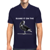 Grey Goose Vodka Blame It On Funny Alcohol Mens Polo