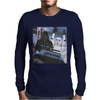 Grey Marl Star Wars Rollercoa Mens Long Sleeve T-Shirt